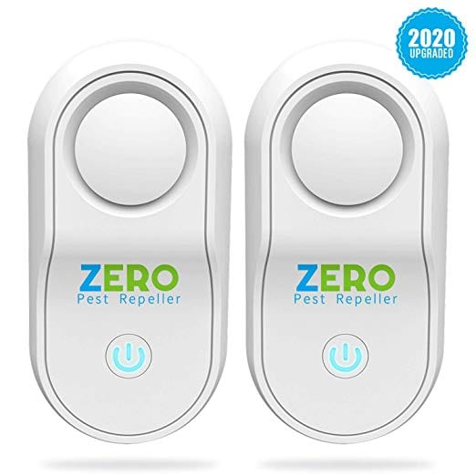ZEROPEST 2019 Upgraded Ultrasonic Pest Repeller