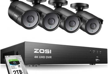 ZOSI 4K UltraHD 4Channel Security System