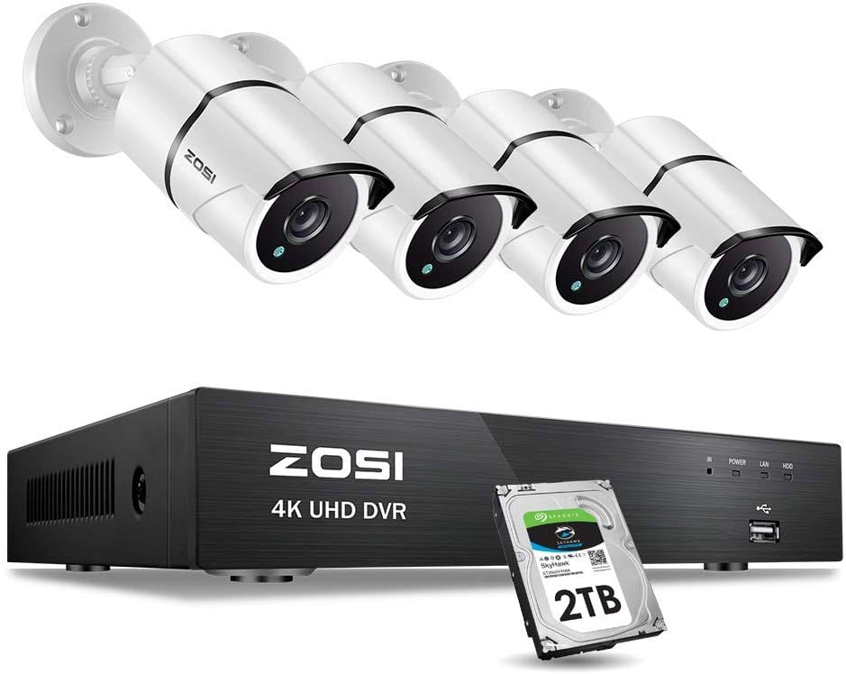 ZOSI UltraHD 4K 8 Channel Security System