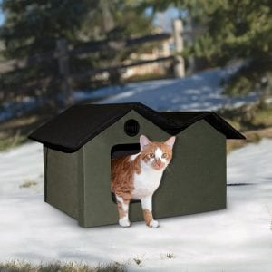 K&H Removable Door Flaps Outdoor Shelter for Cats