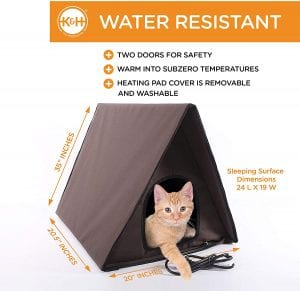 K&H Well Insulated Multi-Kitty House