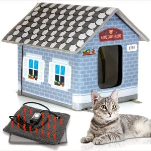 PETYELLA Weatherproof & Easy Assembly House For Pets