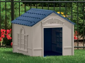 Suncast Sturdy Resin Construct House For Large Size Dogs