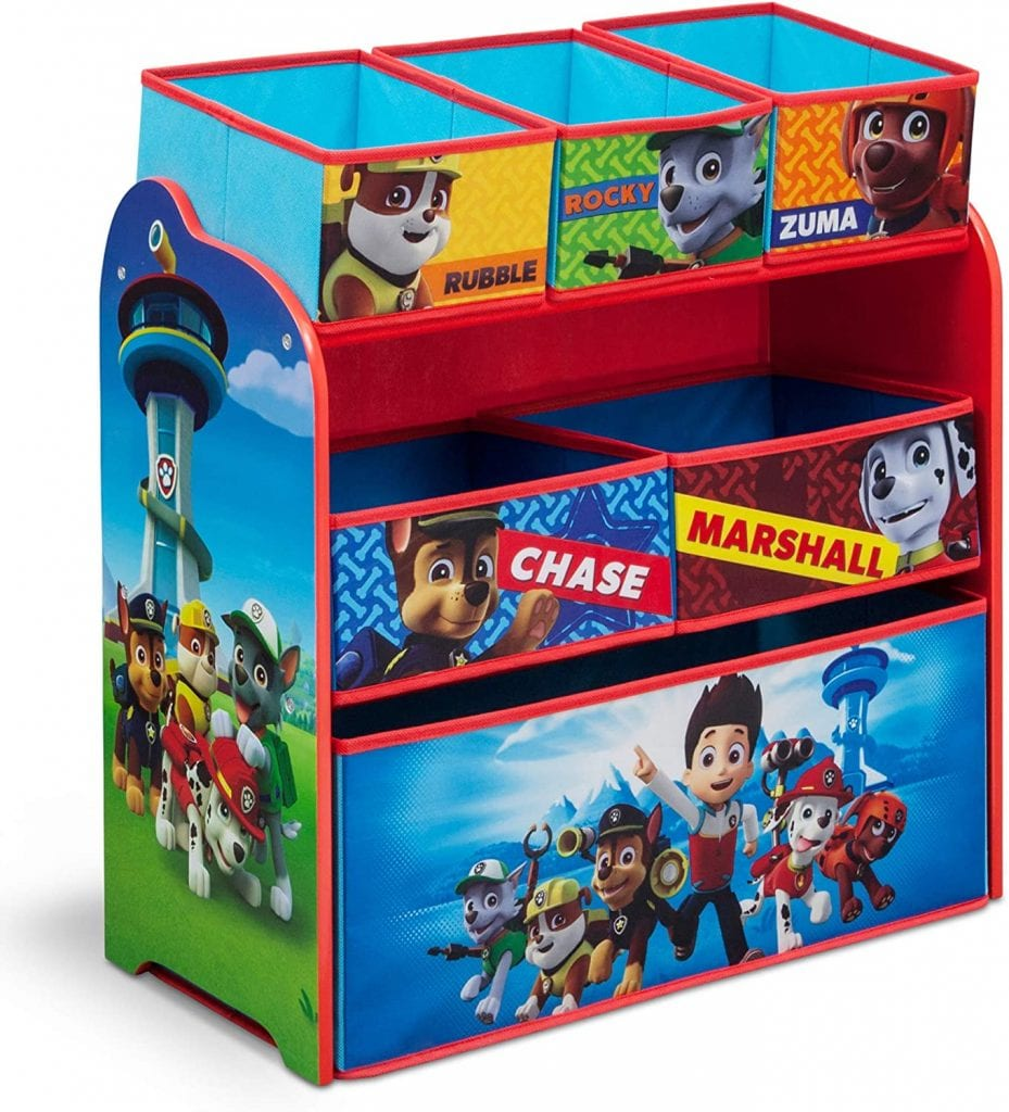 Delta Children Paw Patrol Toy Storage