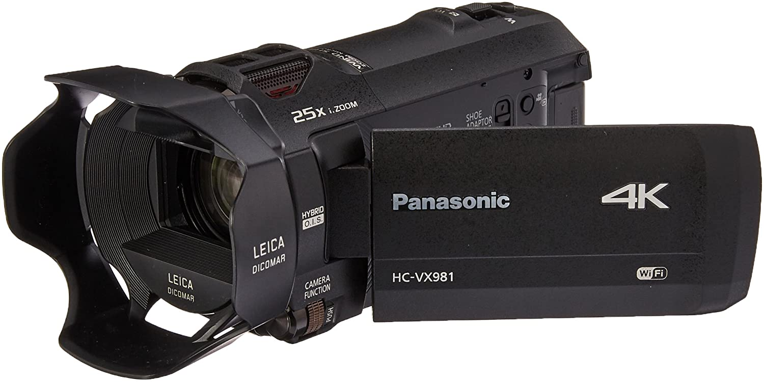 Panasonic 4K Ultra HD Video Camera Camcorder