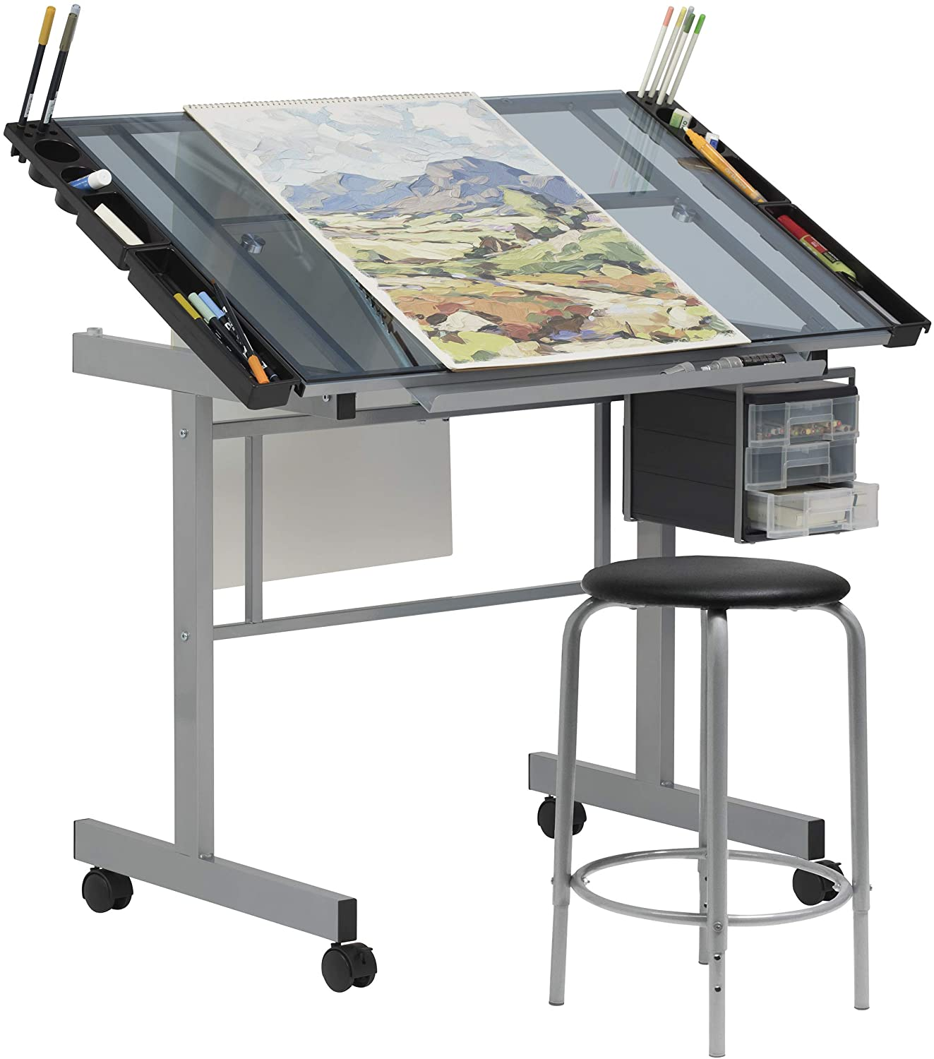 SD Studio Designs 2 Piece Vision Drawing Table