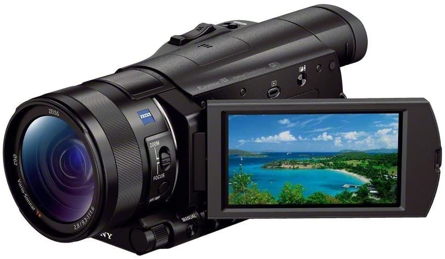 Sony FDR-AX100:B 4K Video Camera with 3.5-Inch LCD