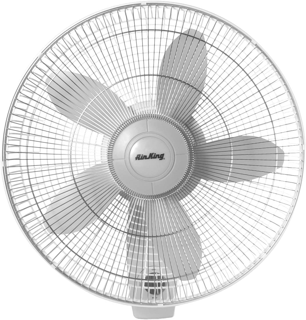 Air King 9018 Commercial Grade Oscillating Wall Mount Fan