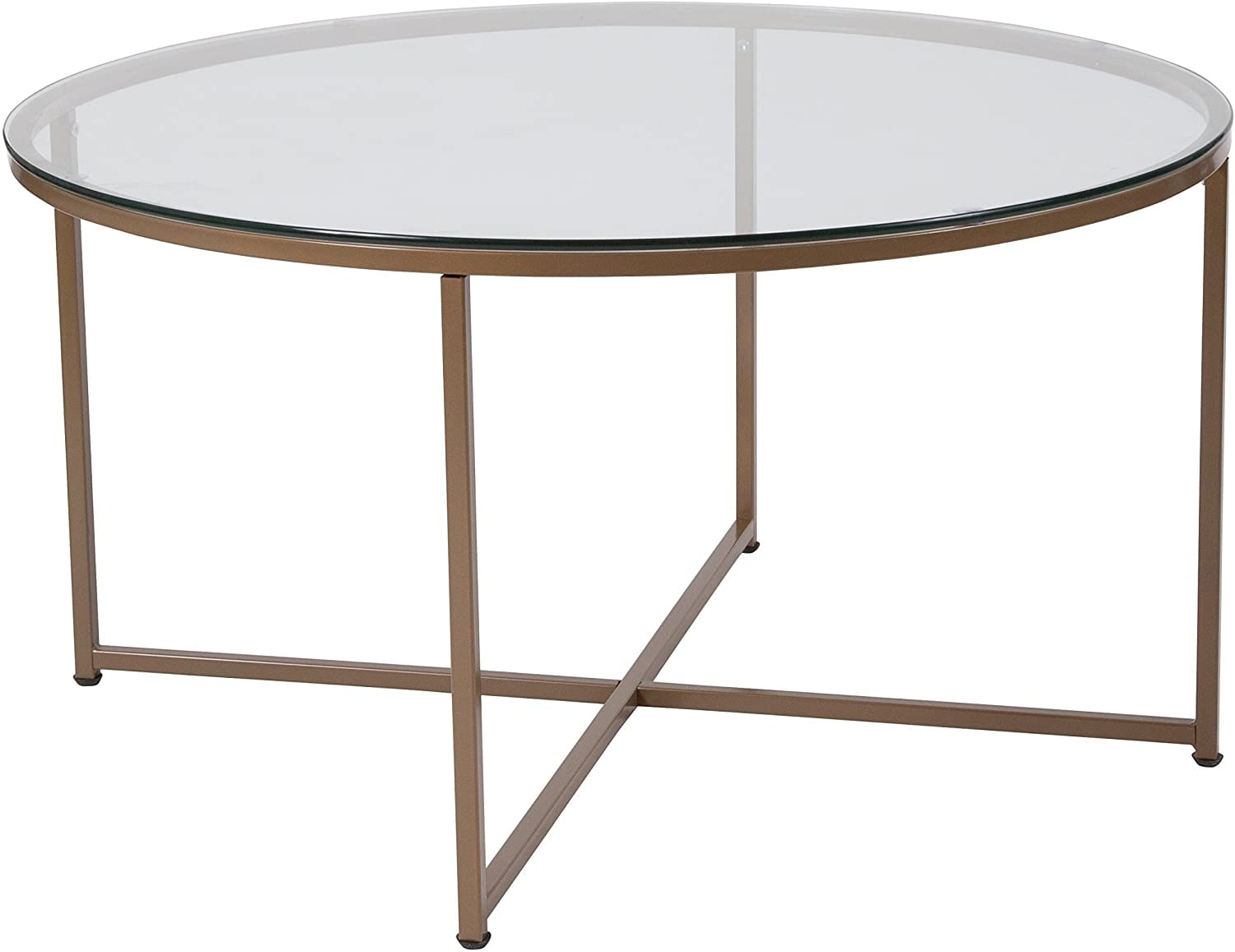 Flash Furniture Greenwich Collection Glass Coffee Table