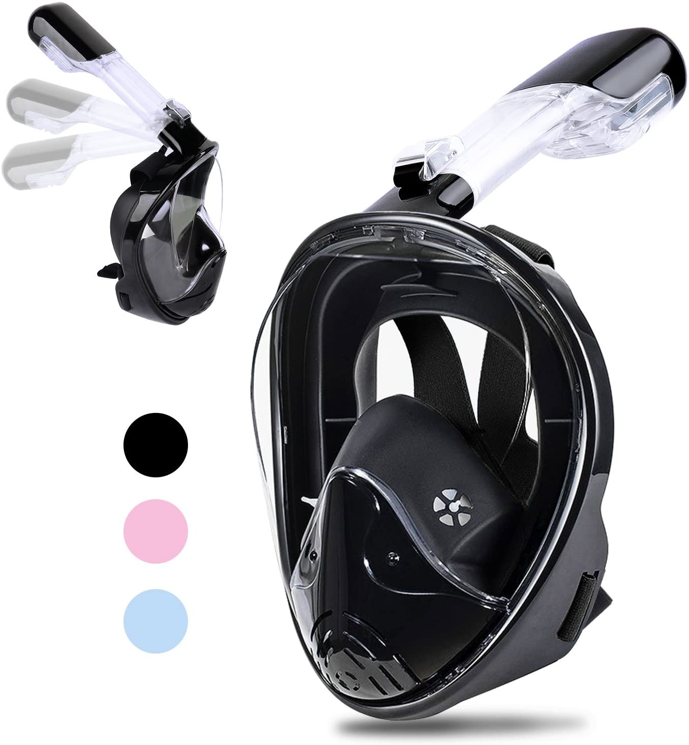 Greatever Snorkel Mask Foldable Panoramic View