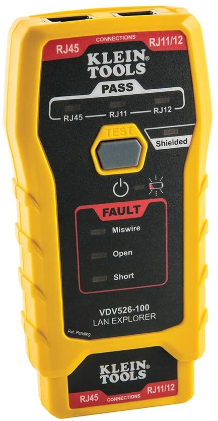 Klein Tools VDV526-100 Network LAN Cable Tester