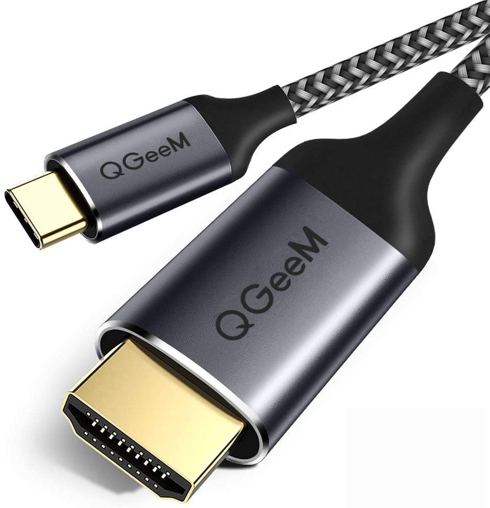 QGeeM USB C to HDMI Cable Adapter