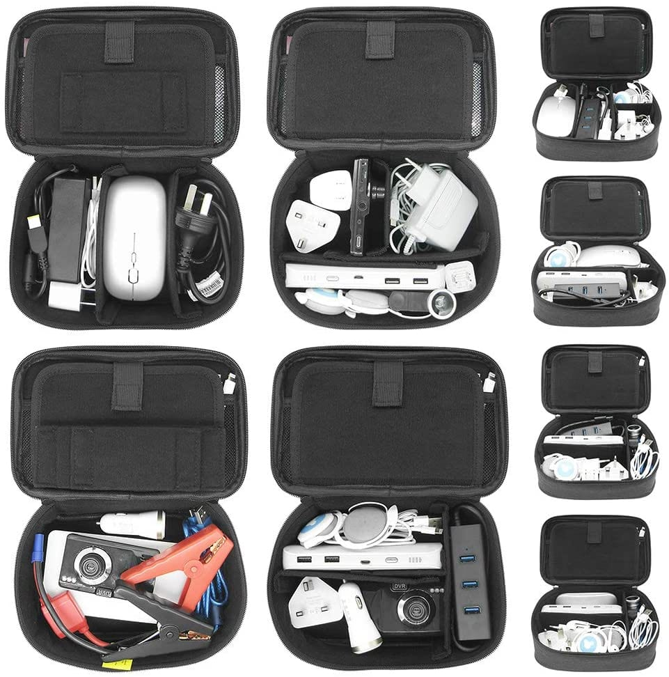 Sisma Travel Cords Organizer Universal Small Electronic Accessories Carrying Bag