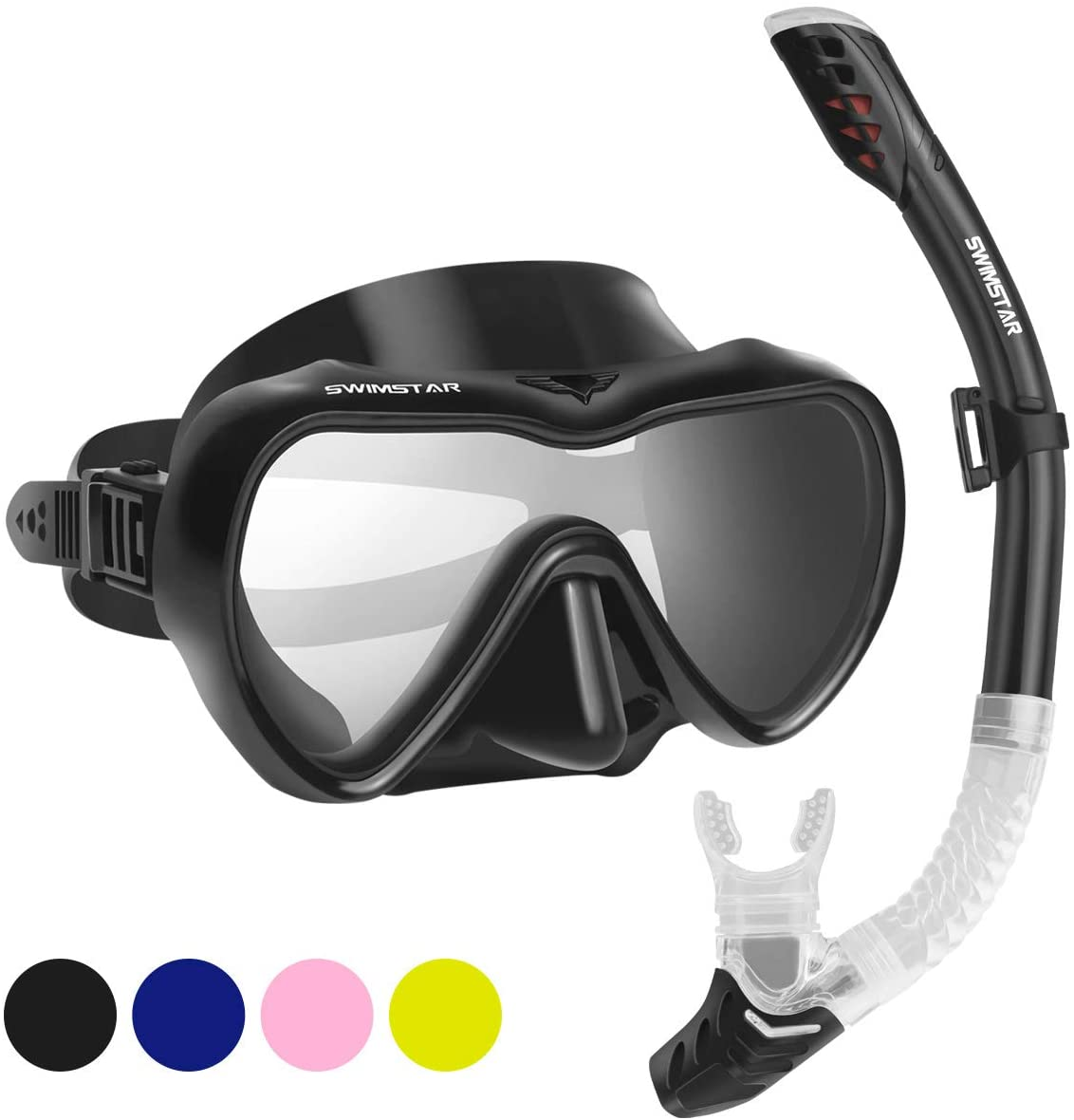 SwimStar Snorkel Set for Women and Men