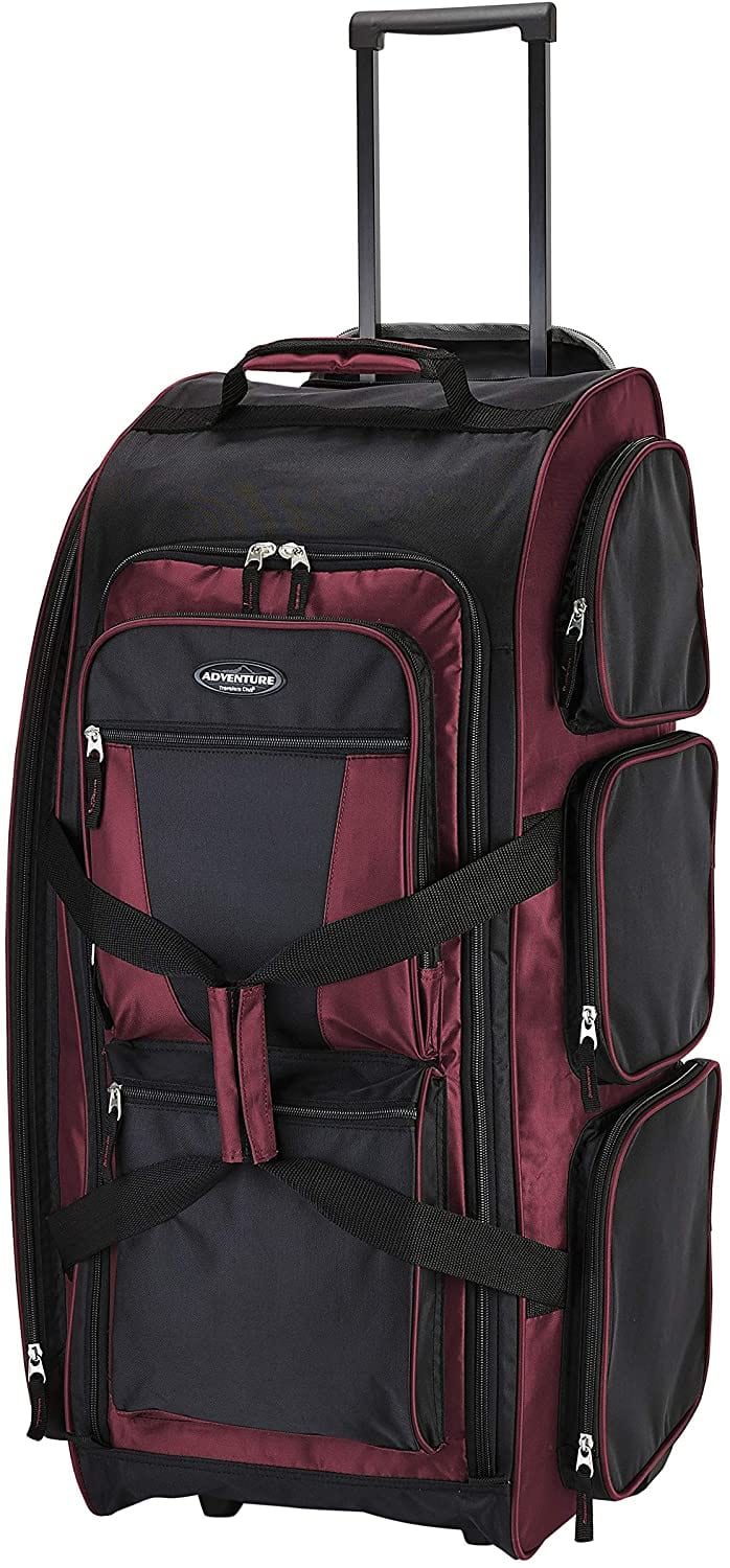 Travelers Club 30 Xpedition Upright Rolling Travel Duffel Bag