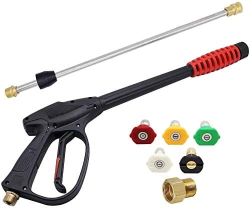Twinkle Star 3000 PSI High Pressure Power Washer Gun with 21 Inch Replacement Wand