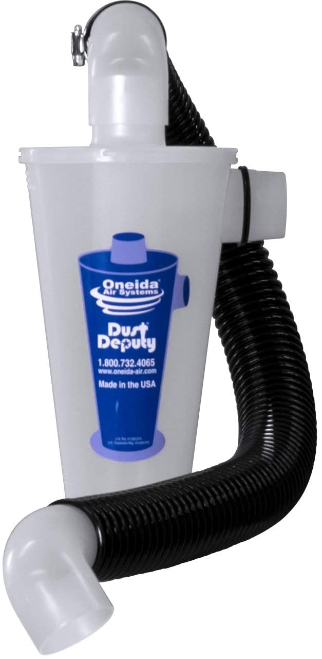 Dust Deputy Anti-Static Cyclone Separator (DD DIY Plus)