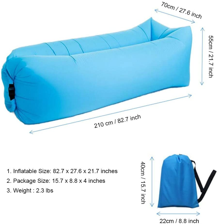 Bry Inflatable Lounger Air Bed
