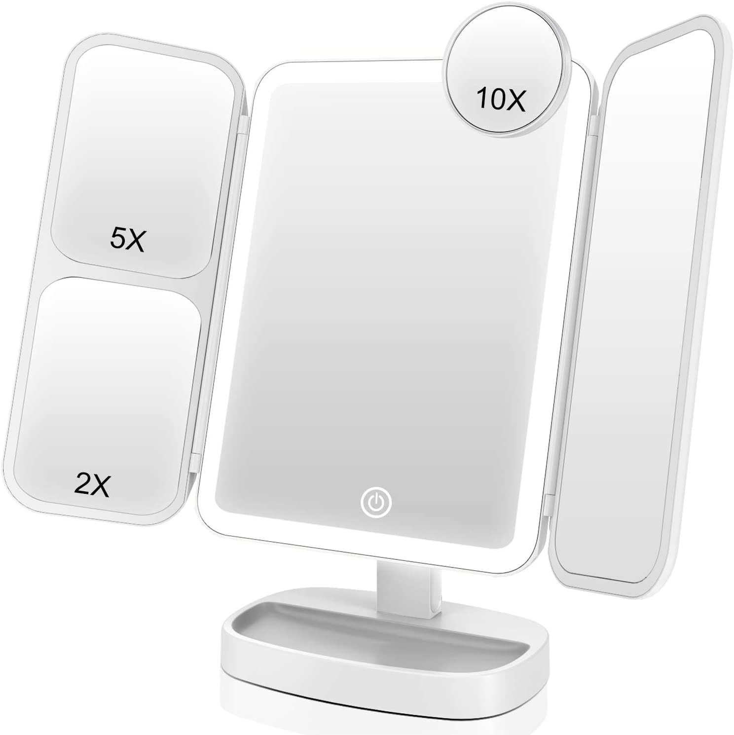 EASEHOLD Makeup Mirror Vanity Mirror with Lights 38 LED Lighted Mirror