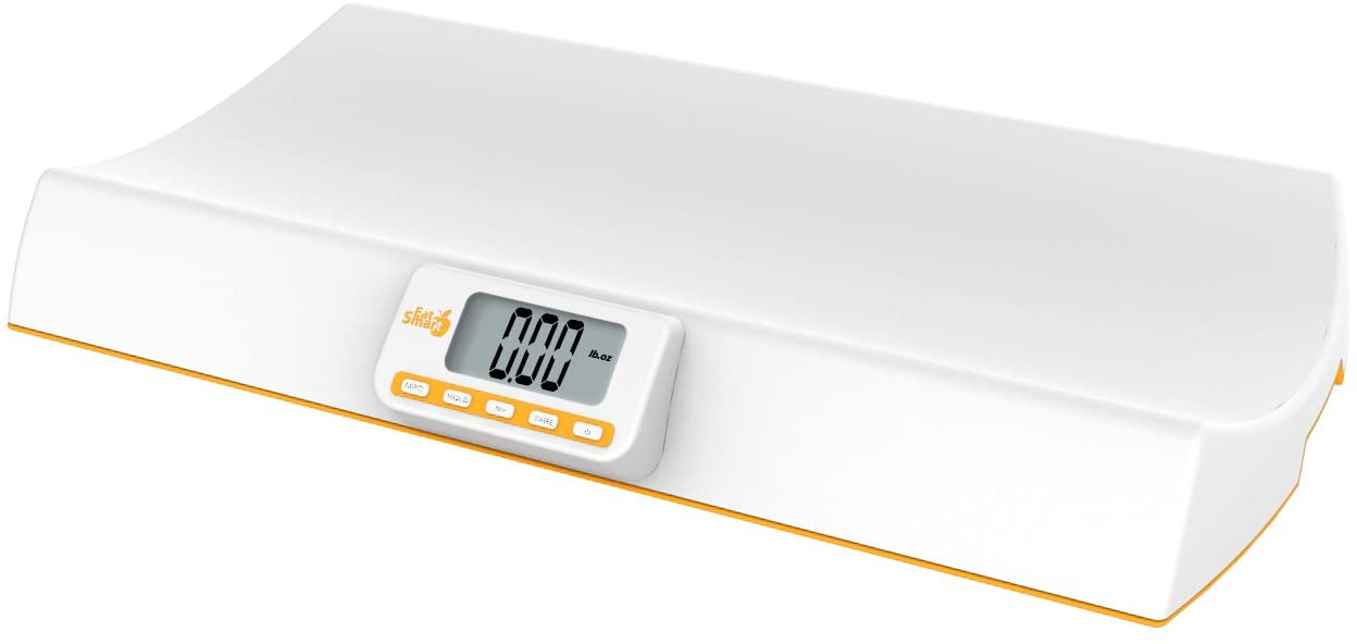 EatSmart Digital Baby and Pet Weight Scale, 44 Pound Capacity