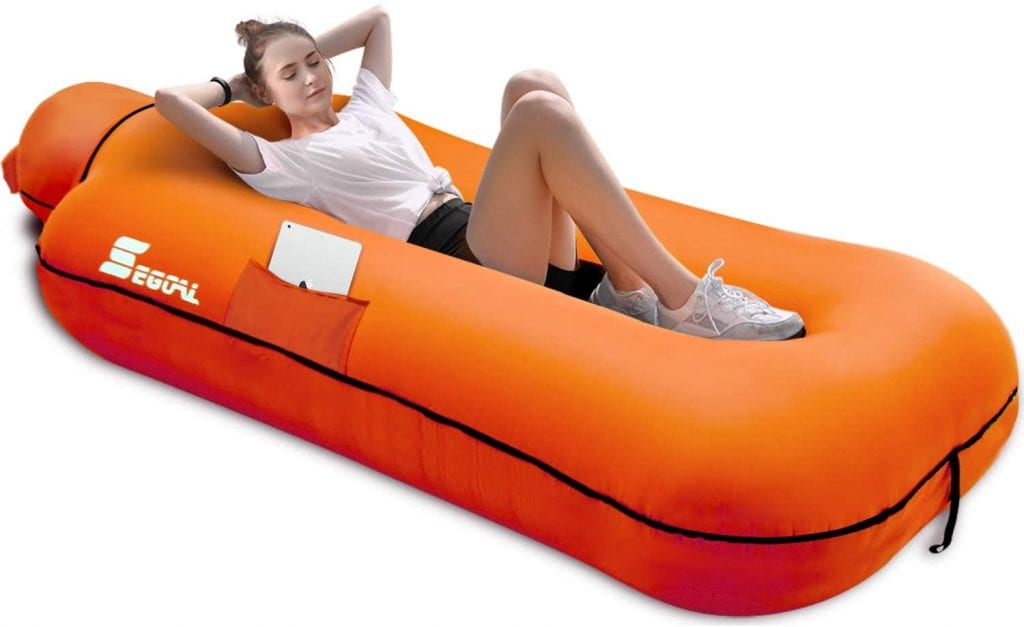 Seagoal Inflatable Lounger Air Bed