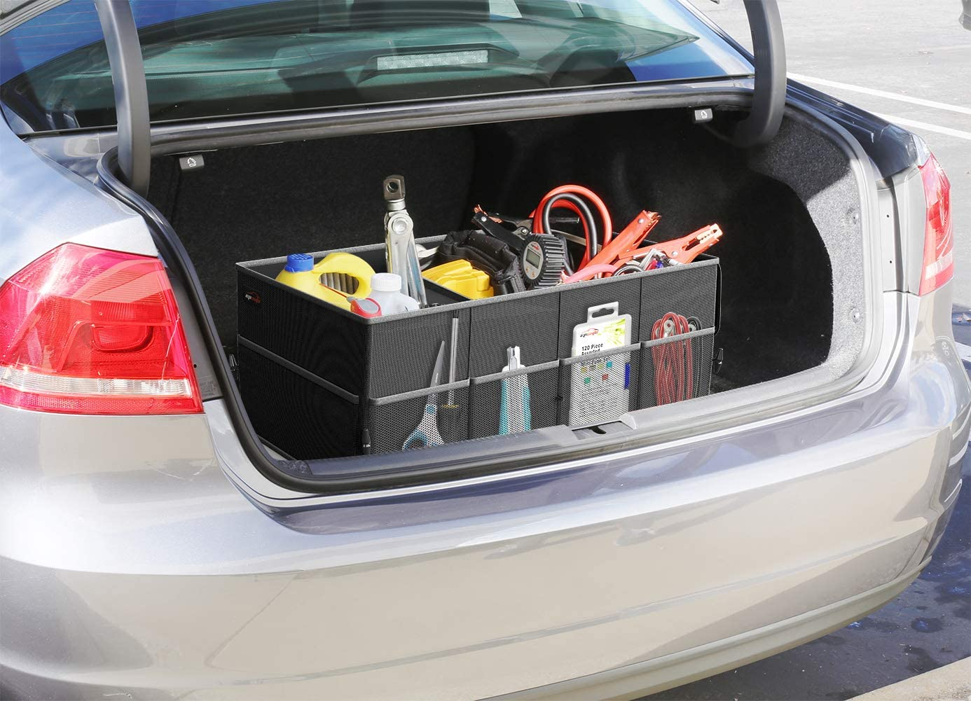 Car Boot Storage For NISSAN Serena Tools Carrier Box Heavy Duty Car Trunk Boot Organizer Tidy Bag Durable No More Mess In Trunk Car Trunk Storage Waterproof