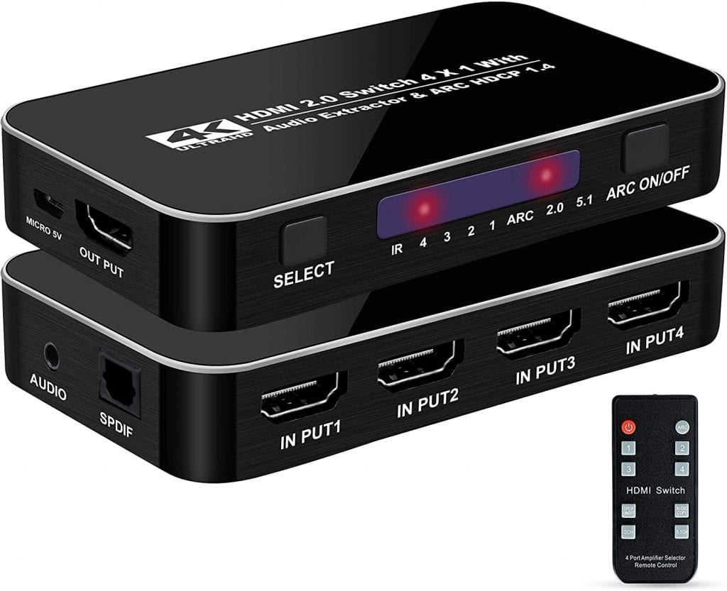 NEWCARE HDMI Audio Extractor