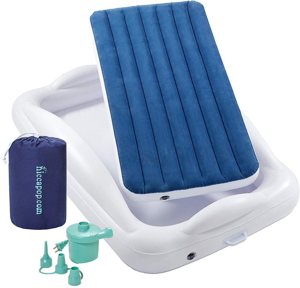 Hiccapop Portable toddler travel bed