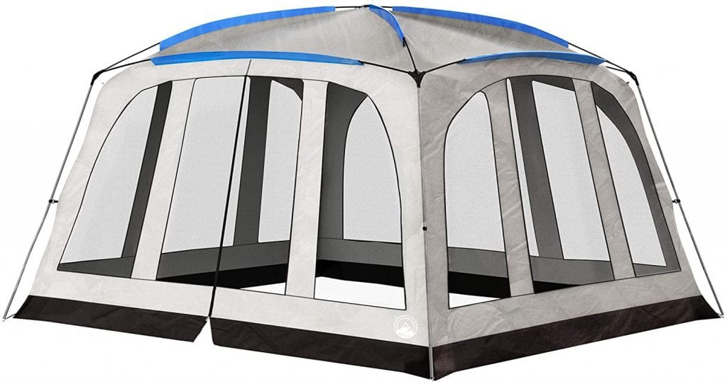 Screened-in Canopy Tent