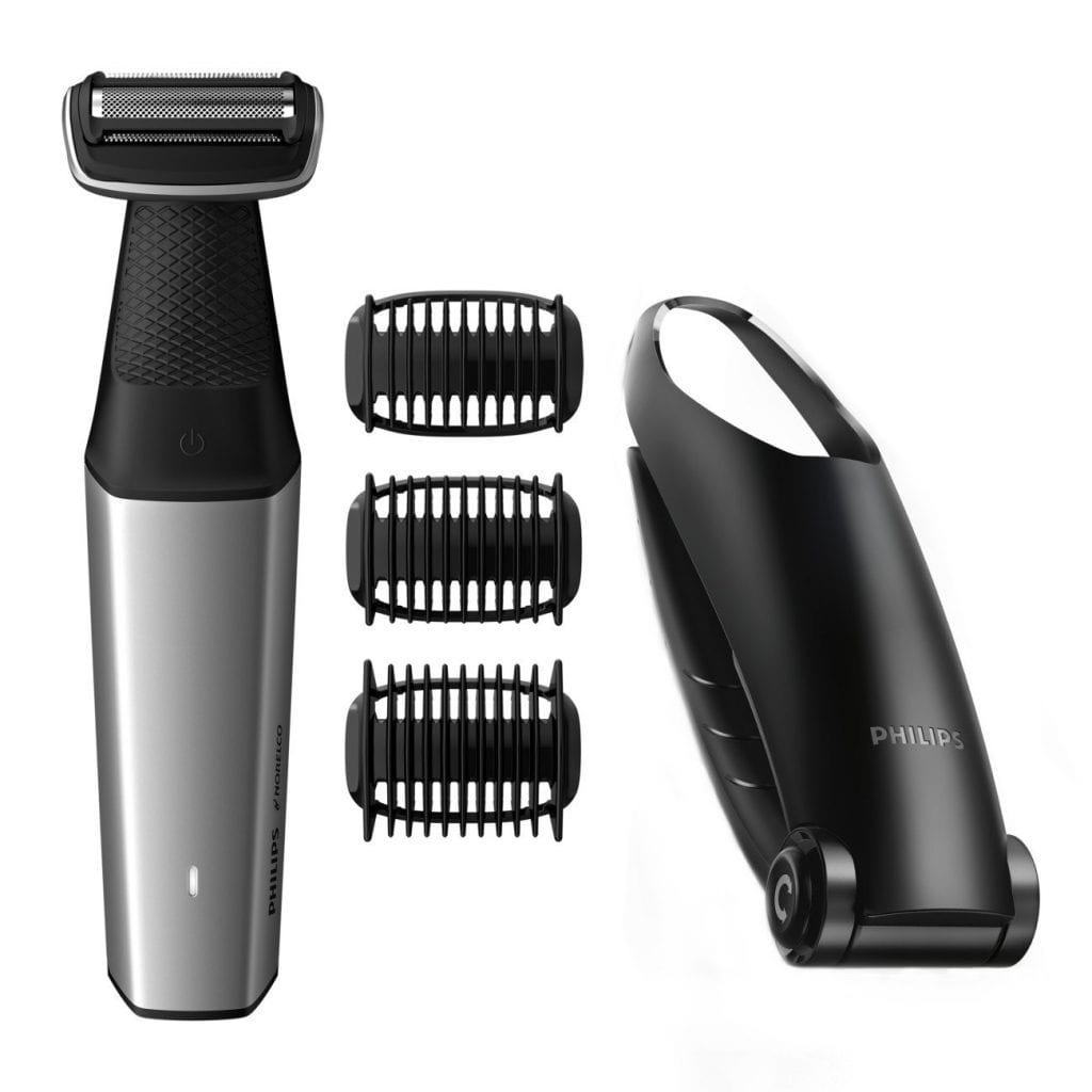 Philips Norelco Body Hair Trimmer with Back Shaver